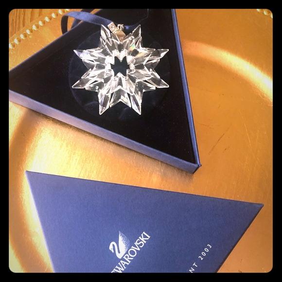 Swarovski Other - Swarovski Christmas Ornament 2003